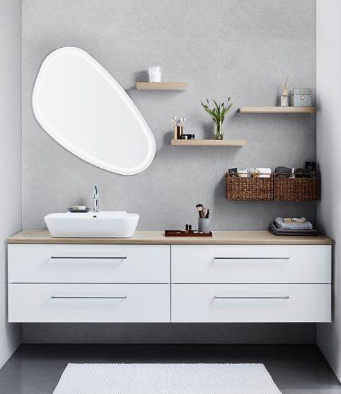 vaskeskab badeværelse DANSANI showroom bad udstilling privat salg København Nordsjælland vaskeskab badeværelse
