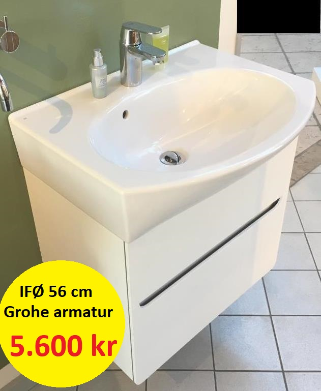 håndvask med underskab tilbud