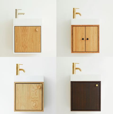 Meget SKABRUM badmøbler   Køb lækre og rummelige badeværelses møbler RH84