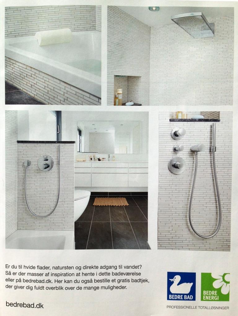 Nedsænket badekar - se det super flotte badeværelse her